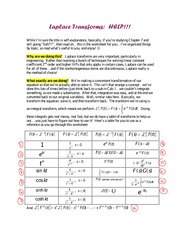 EXAM RESOURCES › Extra-help guide about Laplace Transforms