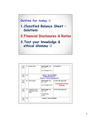 Day 8 power point slides (Balance Sheet) student notes