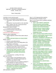 nurse 308 exam 1 study guide