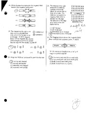 Magnetism and Modern Review Test