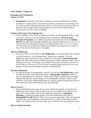 Notes Module 7 Essentials of Sociology Chapter 14.docx