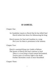 II SAMUEL 2
