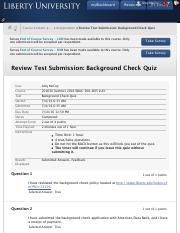 1_Review Test Submission: Background Check Quiz – 201630 ...