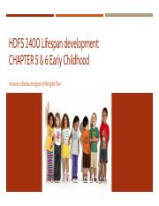 HDFS 2400 ppt_Early childhood.pdf