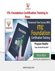 ITIL Foundation Certification Training in Pune.pptx