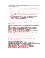Tutorial handout (Solutions)