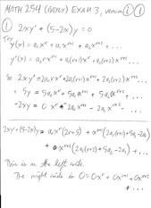 Exam 3 Math254 Thu 5 Apr 2012  Solution