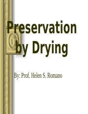 DRYING PRESERVATION.ppt