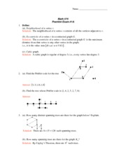Practice Exam 1A with Solutions