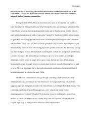 Thesis For Compare Contrast Essay  Pages Portfolio Essay  Final Topics For English Essays also English Essay Outline Format Portfolio  Essay   Lizarraga  Ado You See Pachuquismo As A Form  Term Papers And Essays