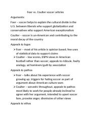 Foer vs Coulter soccer arguments.docx