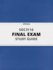 SOC 3116 Final Exam Study Guide.pdf