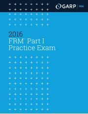 Frm Practice Exam Pdf