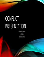 Dominesha Beverly_Conflict Presentation.pptx
