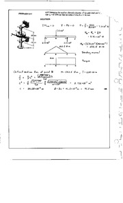 930_Mechanics Homework Mechanics of Materials Solution