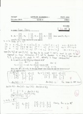 MA237_4 linear combinations