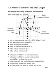 Nonlinear Functions and Their Graphs