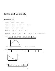 Solution Manual Chapter 1 Limits and Continuity