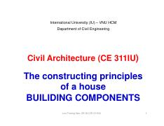 11-Civil Architecture-Class 11-CONSTRUCTING PRINCIPLES OF A HOUSE-BUILDING COMPONENTS [Compatibility
