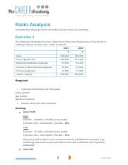 Ratio Analysis (3) (Autosaved)