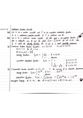 Notes on Continuous Random Variable, Poison Random Variable  and Functions of Random Variables