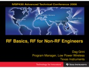 RF - slap127 - RF Basics, RF for Non-RF Engineers