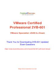 Vmware 2VB-601 Exam Practice Test Software.pdf