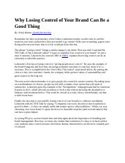 Why Losing Control of Your Brand Can Be a Good Thing.docx