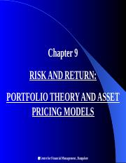 Risk_and_Return_Portfolio_Theory_and_Asset_Pricing_Models.ppt
