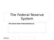 12-a. The Federal Reserve System