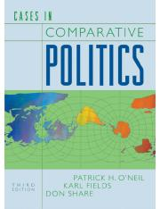 Cases in Comparative Government
