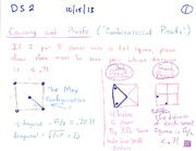 Combinatorial Proofs and Pascal Triangle