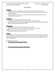 Week 6 MSL102L06 Apply Critical Thinking PE.docx