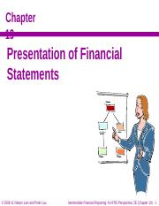 IFRS 2e slides 19 - Financial Statement