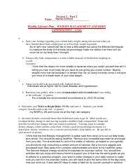 Project 2 Part 2 HLP Weight Management and Body Comp Answer Template.pdf