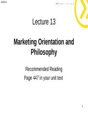 Lecture 2 -  Marketing  Orientation stud.ppt