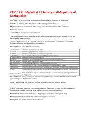 Intensity and Magnitude of Earthquakes Module 4.2.docx