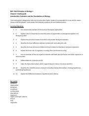 BIO 1500 Principles of Biology I Chp. 1 Study Guide.docx