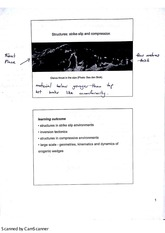 Structural Geology Strike Slip Faults Lecture Notes