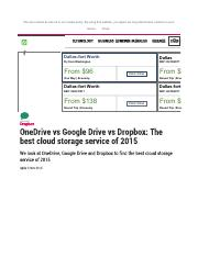 Dropbox vs OneDrive vs Google Drive - We use cookies as set