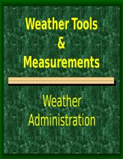 weather insturments and measurements.ppt