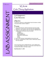Lab Assignment 2 - Color Harmonies(1)