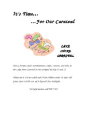 carnival announcement