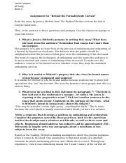 Online essay markets
