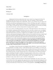 Essay #2 - Final Draft - Immigration.docx