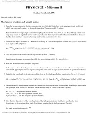 Midterm 2 F98 solutions