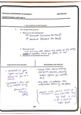 Due Process Worksheet