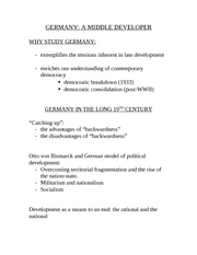 GERMANY Lectures