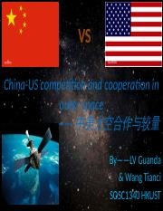 14 China-US competition and cooperation in outer space.pptx