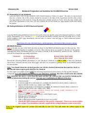 01 - Guideline for the MSDS Exercise and Notebook Preparation